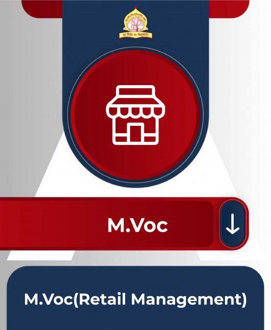 M.Voc(Retail Management)
