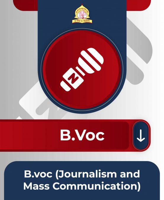 B.voc(Journalism and Mass Communication)