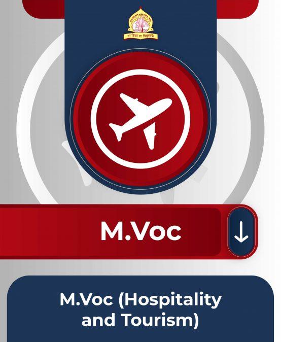 M.Voc(Hospitality and Tourism)