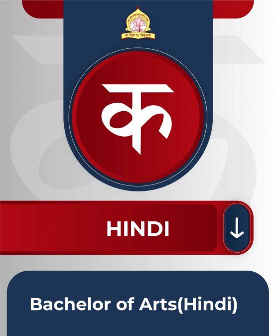 Bachelor of Arts(Hindi)