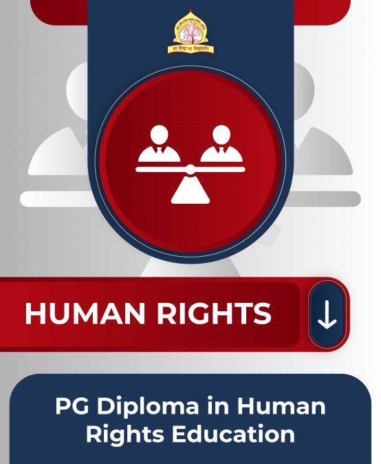 PG Diploma in Human Rights Education